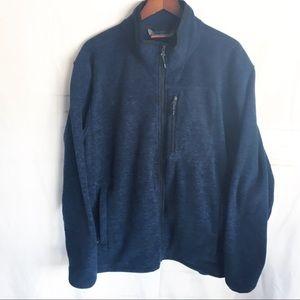 Men's Free Country fleece light jacket XL